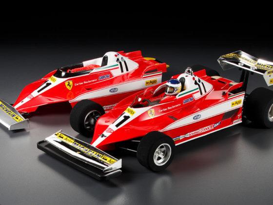 タミヤ フェラーリ312T3に付属するボディ
