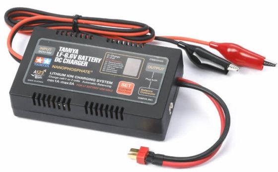 タミヤDCタイプリフェバッテリー充電器