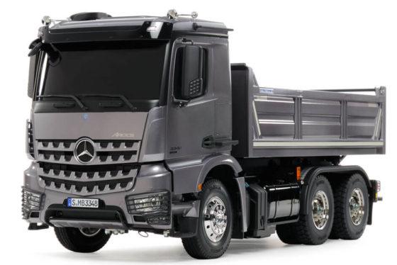 タミヤメルセデスベンツ・ダンプトラック