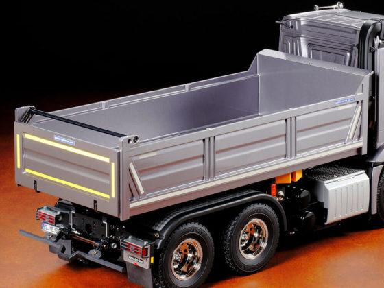 タミヤメルセデスベンツ・ダンプトラックの荷台