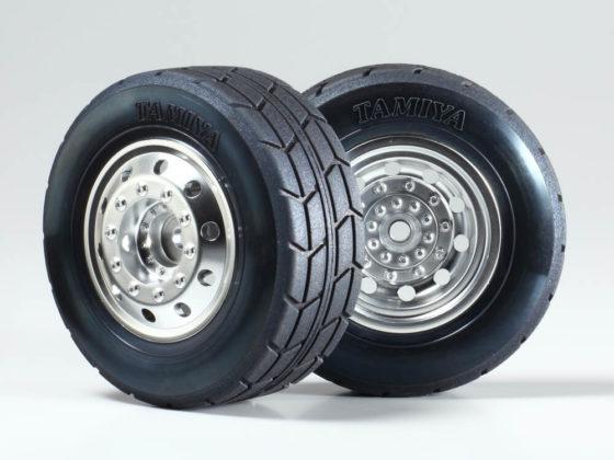 タミヤトラックレーシングのタイヤ