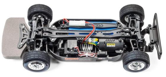 タミヤトラックレーシングのTT01シャーシ
