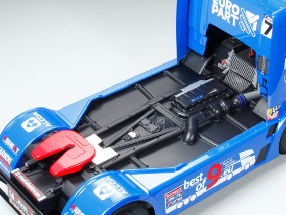 タミヤ1/14RC TEAM REINERT RACING MAN TGSのボディ