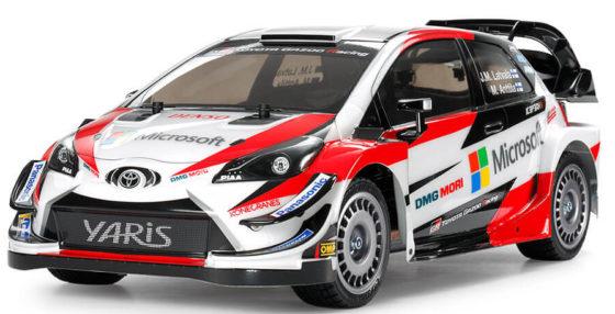 タミヤ1/10RC トヨタ ガズー レーシング WRT/ヤリス WRC(TT-02シャーシ)