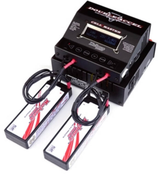 マッチモアのDC充電器と安定化電源