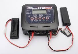 二本同時に充電できる充電器
