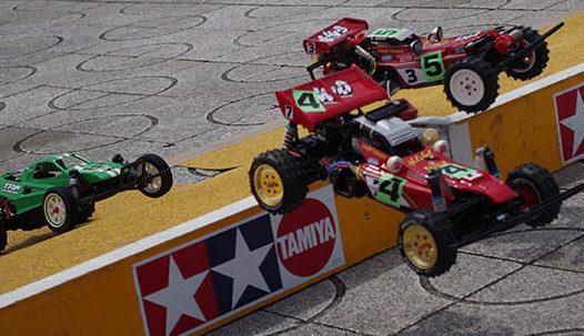 ラジコンバギーのレース